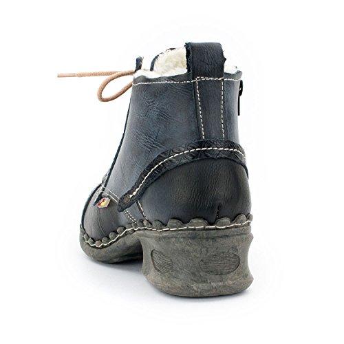 Mujer Tma Enterprises Atm Negro Zapatos Cordones Intenso Con XnqUvH