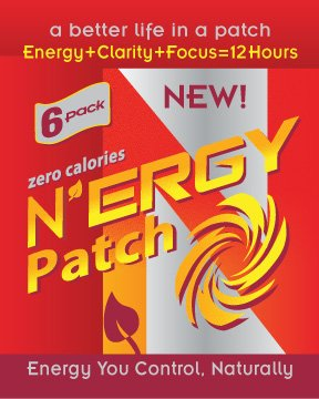 8 hour energy patch - 8