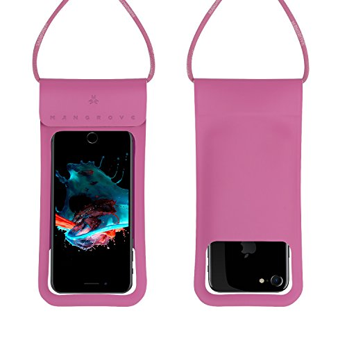 Waterproof Case Cell Phone Dry Bag for iPhone X Plus, 8, 8 Plus, 7, 7plus, 6, 6s, 6s Plus, Samsung Galaxy Note 8, S9, S8, S8 Plus, 5-6 Inch Water Resistant Phone Pouch, Key/Card Holder