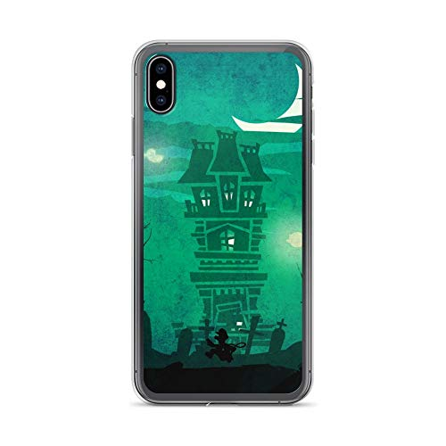 iPhone Xs Max Case Anti-Scratch Gamer Video Game Transparent Cases Cover Luigi Mansion Gaming Computer Crystal Clear]()