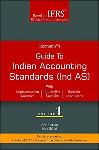 Guide to Indian Accounting Standards (Ind AS) (Set of 2 Volumes) - by Taxmann