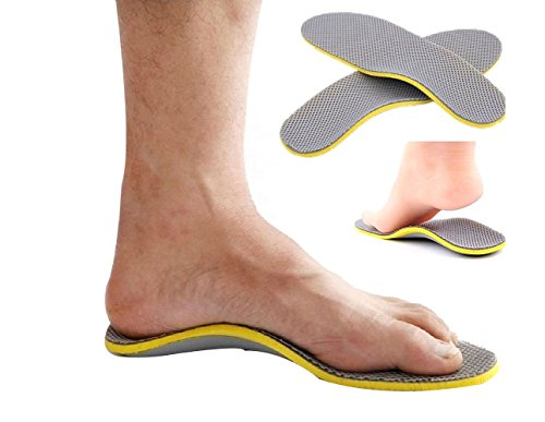 Unisex Comfort Orthotic Arch Support Shoes Insoles Pads Cushion Pain Relief Foot Care (Female Models 35-40)