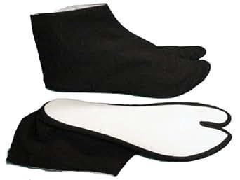 Tabi socks black (#TBi-01, 9 inch)
