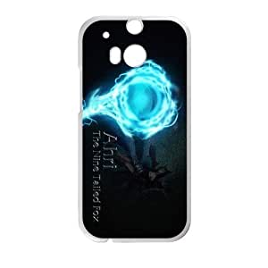 games Ahri Logo LOL HTC One M8 Cell Phone Case White gift zhm004-9329402