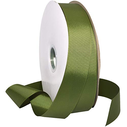 Morex Ribbon 066 Grosgrain Ribbon 1-1/2 inch by 100 Yards Moss ()