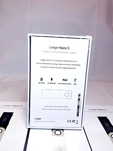 Large Product Image of Ledger Nano S Cryptocurrency Hardware Wallet