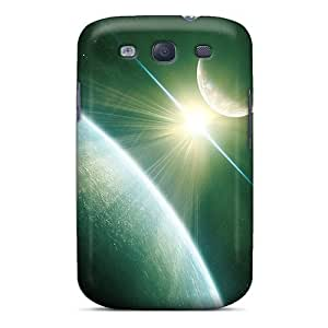Premium Space Back Covers Snap On Cases For Galaxy S3