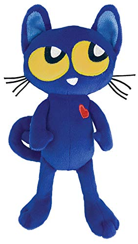 MerryMakers Pete the Kitty Plush Doll, 8.5-Inch]()