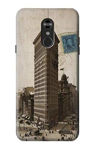 (R2832 New York 1903 Flatiron Building Postcard Case Cover for LG Q Stylo 4, LG Q Stylus)