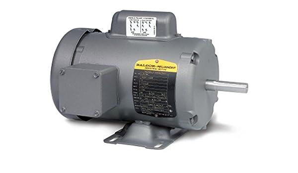 1 HP Baldor Electric Motor 115V TEFC 3450 RPM 60 hz 56C Frame