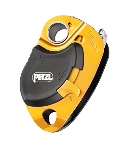 Petzl Pro Traxion Pulley Yellow One Size - Petzl Pulley