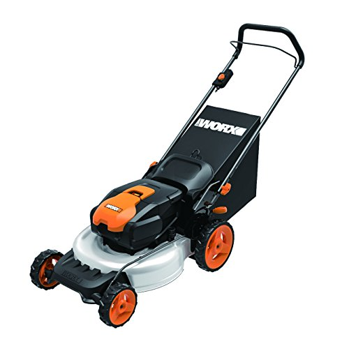 WORX WG770 36V 2-in-1 Cordless Mower with Single Lever Depth Setting