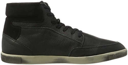 Black Nero 000 Uomo Softinos Collo Toi420sof Smooth Sneaker Alto a nqnfH8w0