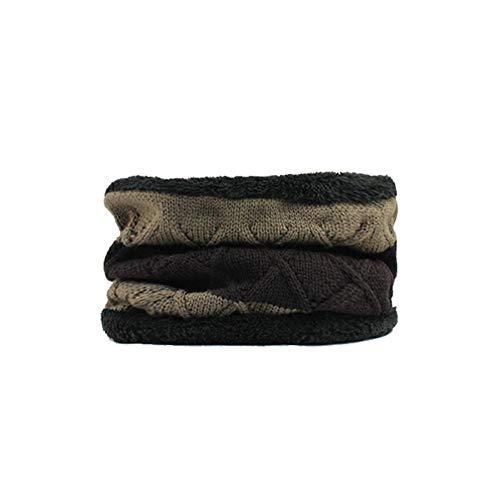 maglia con uomini choker Beanie Allthemen Winter kaki Iwqx7SE