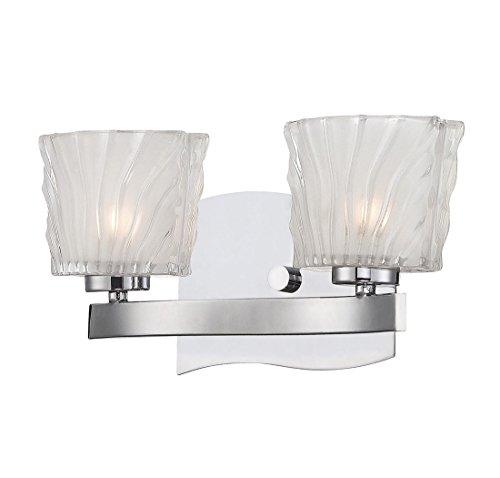 Savoy House 8-236-2-CH Carina 2-Light Bath Bar Fixture
