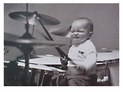 drummer birthday Amazon.: Baby on Drums   Birthday Card : Office Products drummer birthday