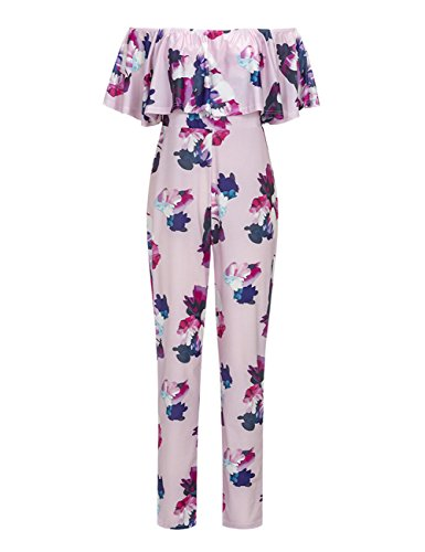 amz-plus-womens-large-size-boat-neck-short-sleeve-printing-sexy-jumpsuit-pink-l