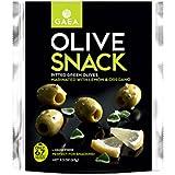 Gaea Snack Pk Ptd Green Olives w/ Lemon & Oregano