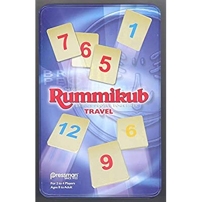 Rummikub in Tin by Pressman: Toys & Games