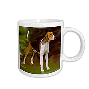 3dRose American Foxhound Mug, 15-Ounce 6