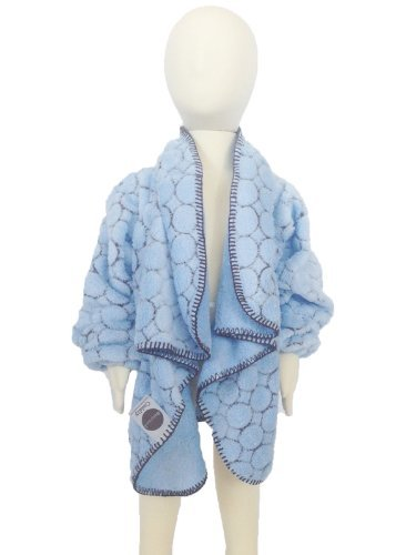Mountain Laurel Nursery - Babymoon: Cuddly Wearable Blanket w/Sleeves (Sm/Md Age 1-3/20-40lbs) Blue Dot Model: CU3002 (Newborn, Child, Infant)