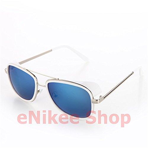 NEW!!!!Models Tortoise Sunglasses IRON MAN TONY Stark 3 Steampunk Men Mirrored Matsuda UV400 - Stark Man Iron Sunglasses 3 Tony