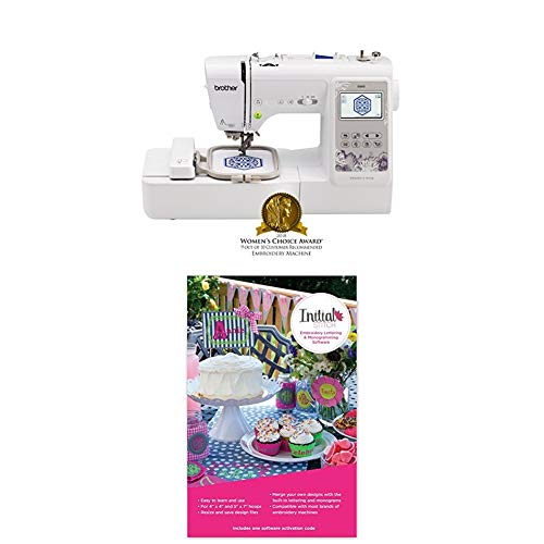 Monogram Wizard - SE600 with Initial Stitch Embroidery Lettering & Monogramming Software