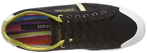 Replay Women's Dayton Trainers Multicolour (Black Gold 006) free shipping comfortable pay with paypal YkuaBt