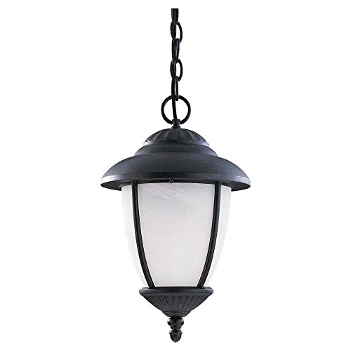 Sea Gull Lighting 60048-185, Yorktown Cast Aluminum Outdoor Ceiling Lighting, 75W, Iron