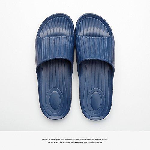 donne ciabatte casa e interni e bagno in 40 soggiorno fankou Coppie estate bagno da antiscivolo home trascinare estate 41 cool uomini blu scuro di plastica wZn0If