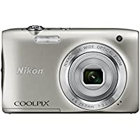 Nikon COOLPIX S2900 Digital Camera (Silver) - International Version (No Warranty)