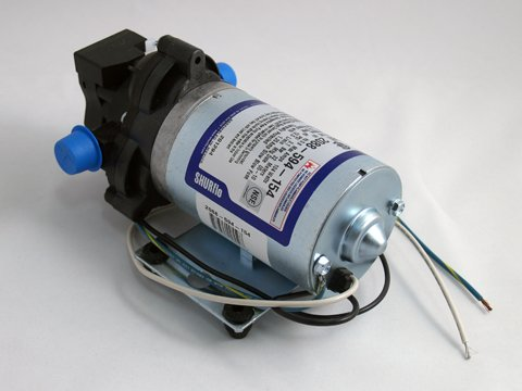 SHURflo Industrial Pump - 198 GPH, 115 Volt, 1/2in, Model# 2088-594-154 by SHURFLO