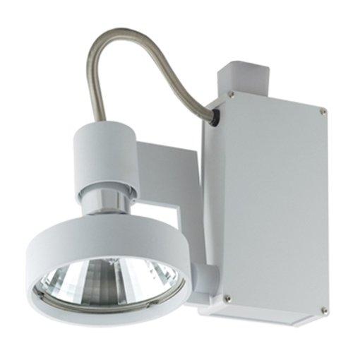 (Jesco Lighting HMH701T6FL70B Contempo 701 Series Metal Halide Track Light Fixture, T6 36-Degree Flood, 70 Watts, Black Finish)