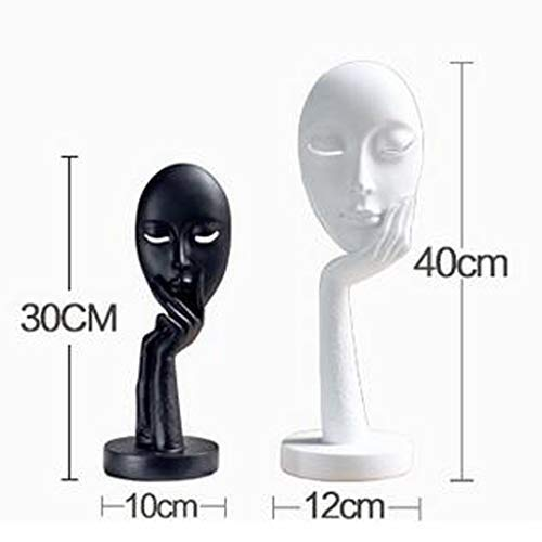Decoration Personality Home Crafts Abstract Face Simple Modern Living Room Wall Cabinet TV Cabinet Decoration Artwork Decoration