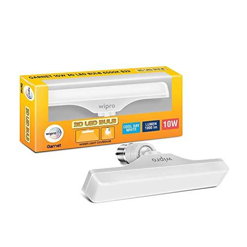 wipro 10W B22 LED Cool Day Light T Bulb,  N11011
