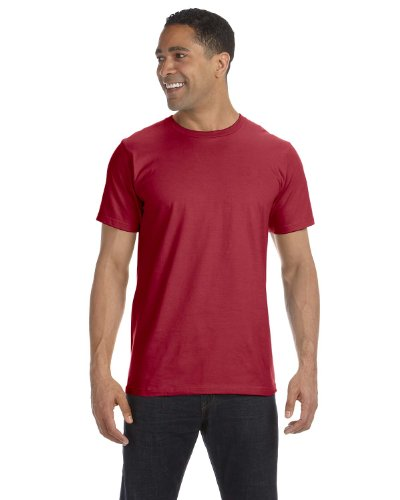 Clementine Anvil Organic T-Shirt () Independence Red, 3XL