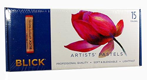 Blick Artists' Pastels -15 colors (Dick Blick Art)