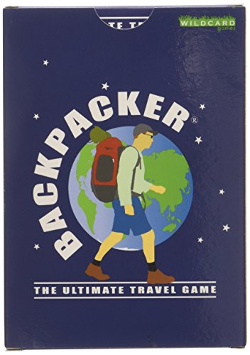 Backpacker - The Ultimate Travel Game - Fun Pocket Sized Card Game About Travelling Around The World