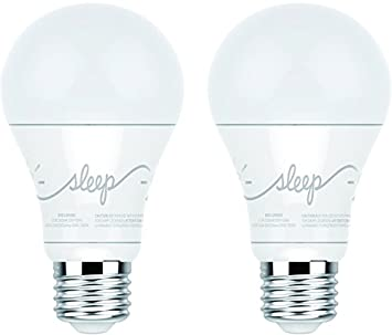 C by GE A19 C-Life Smart LED Light Bulb by GE Lighting 2-Pack Works with Alexa 44298