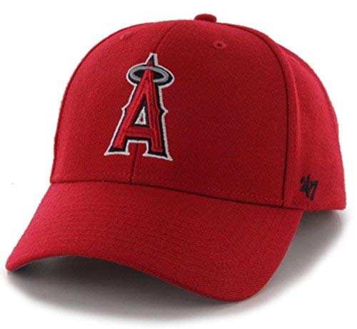 '47 Authentic Los Angeles Angels of Anaheim MVP - Home Color Red ()