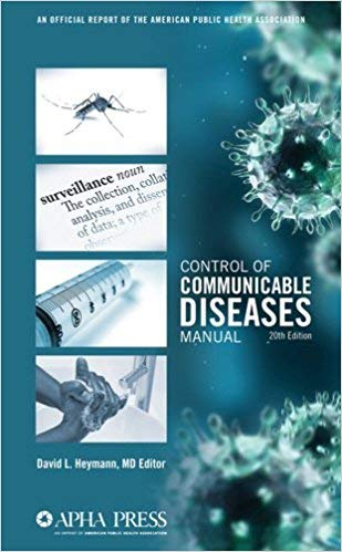 [0875530184] [9780875530185] Control of Communicable Diseases Manual 20th Edition-Paperback