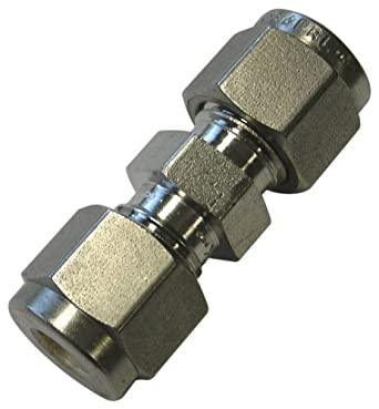 Stainless Steel Compression Tube Fitting Flow Restrictor