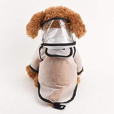 Gulunmun Chubasqueros para Perros Perro Impermeable para ...