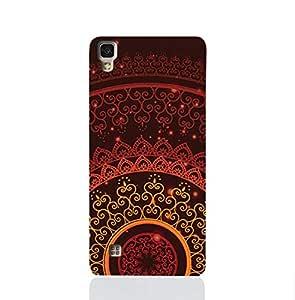 LG X Power TPU Silicone Case With Colorful Henna Mandala Design