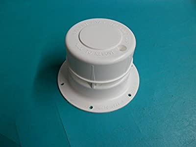 """RV Camper Sewer Roof Vent Holding Tank Camping White 1 1/2"""" Pipe Plastic VC-240"""