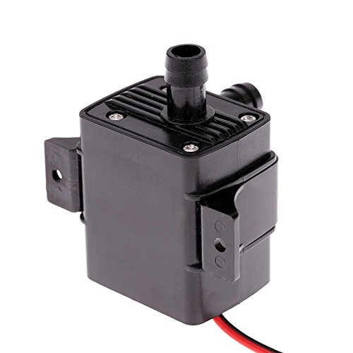Anself Ultra-quiet DC12V 4.2W Water Oil Pump Waterproof Submersible for Pond Fountain Circulating