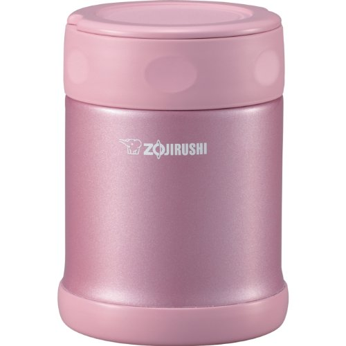 Zojirushi SW-EAE35PA Stainless Steel Food Jar, 11-3/4-Ounce, Pink (Soup Zojirushi compare prices)
