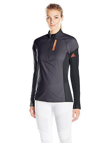 adidas Outdoor Women's Terrex Stockhorn Fleece Jacket, Dark Grey, Small