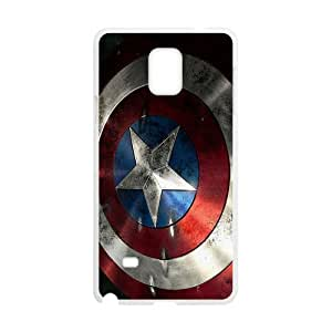 Captain America Shield Brand New And Custom Hard Case Cover Protector For Samsung Galaxy Note4