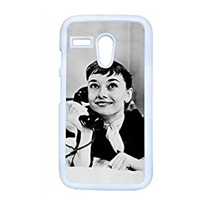 Printing With Audrey Hepburn Abstract Back Phone Case For Kids For Moto G 1Th Choose Design 5